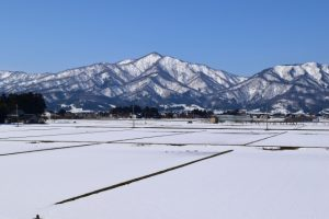 山形県の雪景色